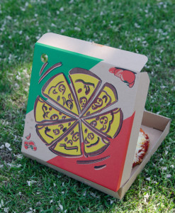 pizza box lawn