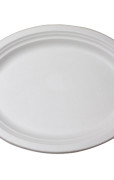 Oval Plate 12.5 x 10 inch
